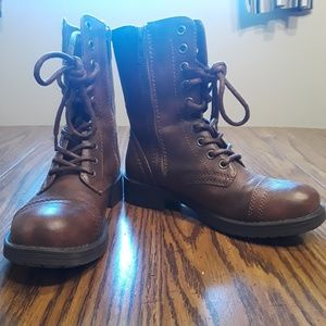 9f33dcb6a38 Shoes | Amazing Slouchy Bad Ass Leather Moto Boots | Poshmark